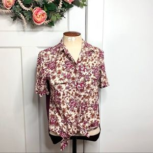 Porridge Anthropologie NWT Button Down Top